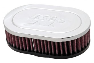 K&N® RC-2000 - Oval Straight Air Filter