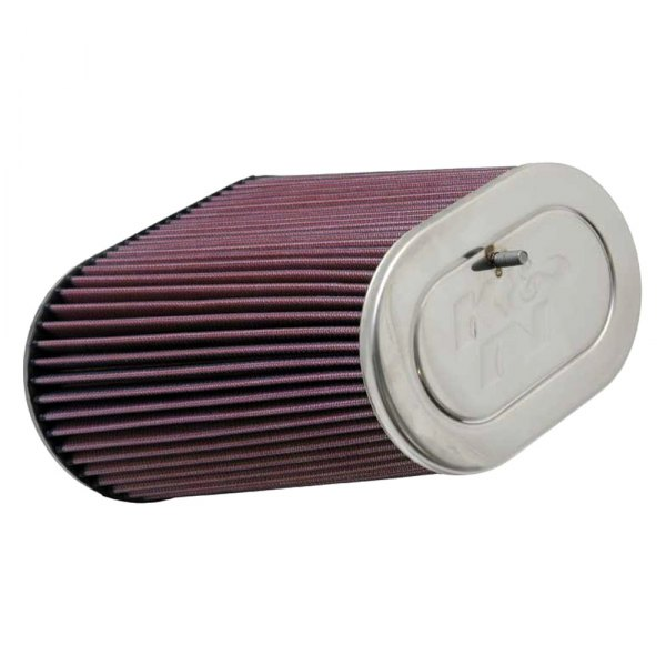 K&N® - Dual Flange Oval Tapered Universal Air Filter