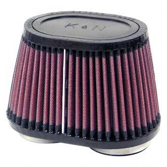 K&N® - Dual Flange Oval Tapered Air Filter