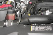 K&N® - 63 Series Aircharger Intake Kit - Installed