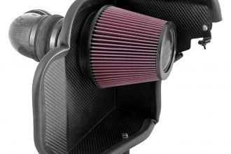 K&N® 63-3079 - 63 Series Aircharger Intake Kit (ZL1 6.2L, Up to 31.71 HP)