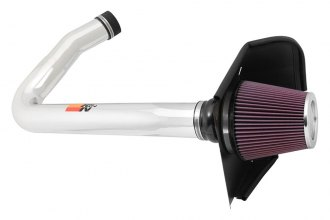 K&N® 69-2544TP - 69 Series Typhoon Cold Air Intake Kit (3.6L, Polished)