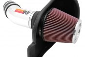 K&N® - 69 Series Typhoon Cold Air Intake Kit - Polished