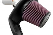 K&N® - 69 Series Typhoon Cold Air Intake Kit - Silver