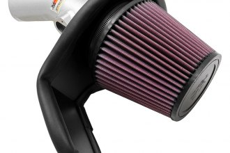 K&N® 69-4521TS - 69 Series Typhoon Cold Air Intake Kit (Silver)