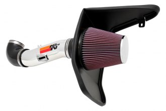 K&N® 69-4523TP - 69 Series Typhoon Cold Air Intake Kit (3.6L F/I, Polished)