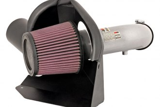 K&N® 69-7061TS - 69 Series Typhoon Cold Air Intake Kit (2.5L L4, Silver)