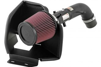 K&N® 69-8609TTK - 69 Series Typhoon Cold Air Intake Kit (Wrinkle Black)