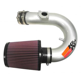 K&N® - 69 Series Typhoon Short Ram Intake Kit - Silver