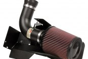 K&N® - 69 Series Typhoon Cold Air Intake Kit - Flat Black