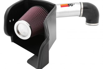 K&N® 77-1561KP - 77 Series High-Flow Performance Air Intake Kit