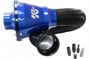 K&N® - Apollo Universal Cold Air Intake System - Blue
