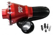 K&N® - Apollo Universal Cold Air Intake System - Red