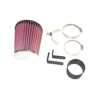 K&N® - 57i Series Generation I Cold Air Intake System without Intake Pipe with Red Filter