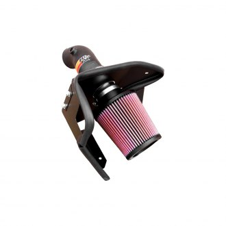 K&N® - 57 Series FIPK Generation II Air Intake System with Intake Pipe with Heat Shield