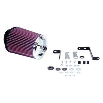 K&N® - 57 Series FIPK Generation I Cold Air Intake System without Intake Pipe with Red Filter