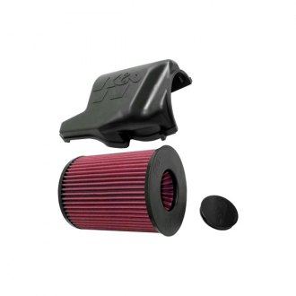 K&N® - 57S Performance Airbox without Intake Pipe with Lid