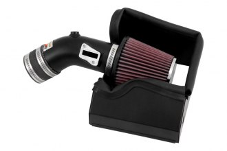 K&N® 69-3533TTK - 69 Series Typhoon Black Short Ram Intake Kit