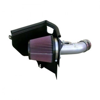 K&N® - 69 Series Typhoon® Aluminum Cold Air Intake System with Red Filter
