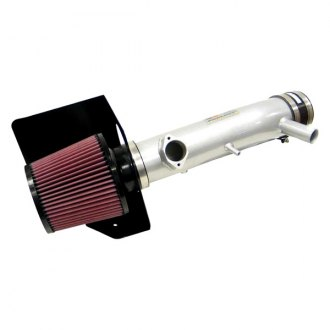 K&N® - 69 Series Typhoon Aluminum Silver Cold Air Intake System