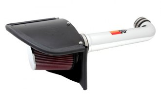 K&N® 77-1566KP - 77 Series High-Flow Performance Polished Air Intake Kit