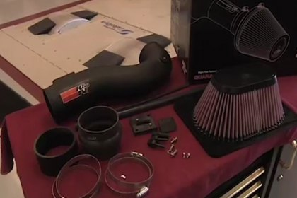 57-9027 - K&N® 57 Series FIPK Generation II Air Intake System Video