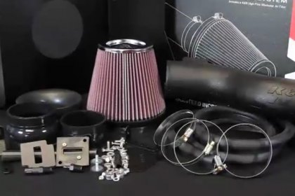 63-9031-1 - K&N® 63 Series AirCharger® Air Intake System Video