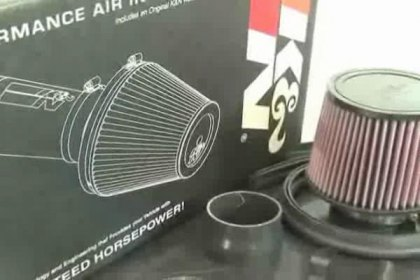 69-1211TTK - K&N® 69 Series Typhoon® Air Intake System Video