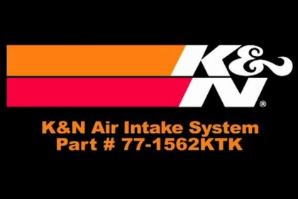 77-1562KTK - K&N® 77 Series High-Flow Performance Air Intake System Video