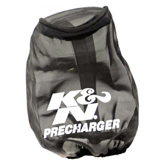 K&N® - Precharger® Round Tapered Black Pre-Filter