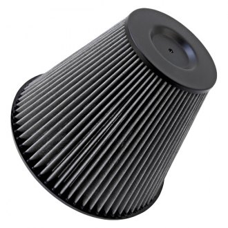 K&N® - Drag Racing Base Mount Round Tapered Gray Scoop Filter