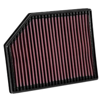 "K&N® - 33 Series Panel Red Air Filter (11.063"" L x 9.188"" W x 1.625"" H)"