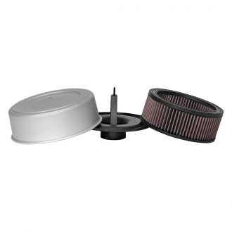 K&N® - Off-Road Covered Round Red Air Cleaner Assembly