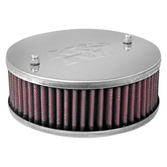 "K&N® - Custom Racing Round Red Air Cleaner Assembly (2.125"" ID)"