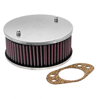 "K&N® - Custom Racing Round Red Air Cleaner Assembly (2.094"" ID)"