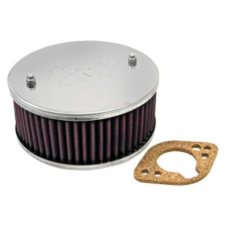 "K&N® - Custom Racing Round Red Air Cleaner Assembly (1.781"" ID)"