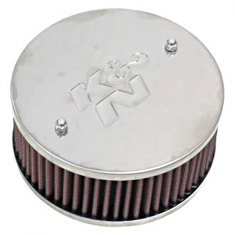 "K&N® - Custom Racing Round Red Air Cleaner Assembly (4.875"" ID)"
