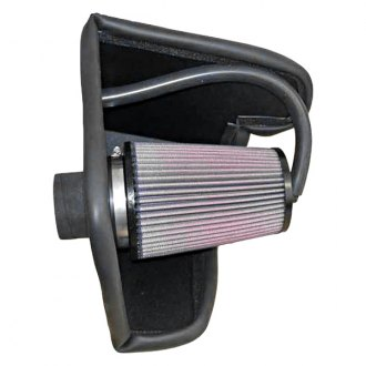 K&N® - 57 Series FIPK Generation II Cold Air Intake System with Red Filter with Intake Pipe and Heat Shield