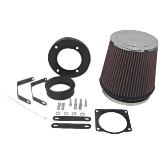 K&N® - 57 Series FIPK Generation I Cold Air Intake System with Red Filter