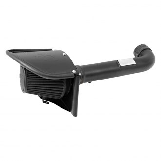 K&N® - Blackhawk Induction™ Aluminum Black Powder Coated Cold Air Intake System with Black Filter