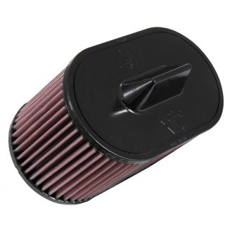 K&N® - E Series Oval Straight Red Air Filter
