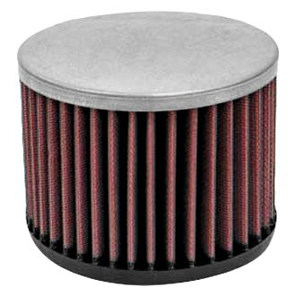 K&N® - E Series Round Straight Red Air Filter