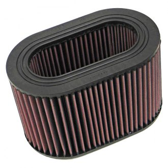 K&N® - E Series Oval Red Air Filter