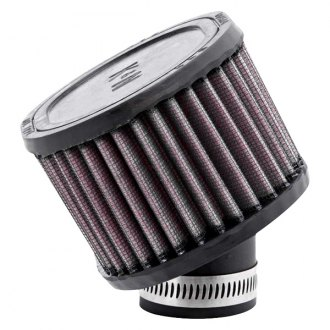 K&N® - Oval Straight Red Air Filter