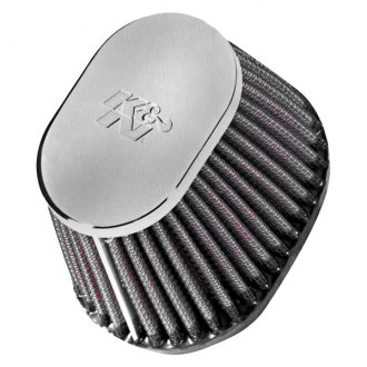K&N® - Oval Tapered Red Air Filter
