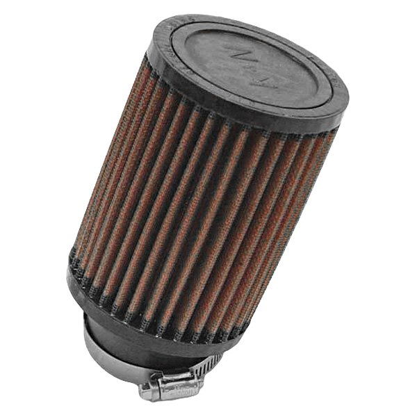"K&N® RU-1710 - Round Straight Red Air Filter (2.25"" F x 3 ..."