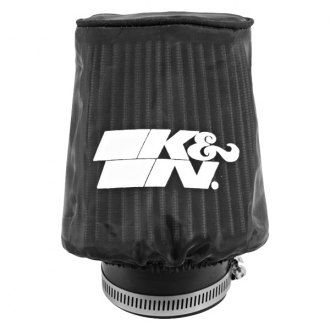 K&N® - Snowcharger® Oval Tapered Black Pre-Filter