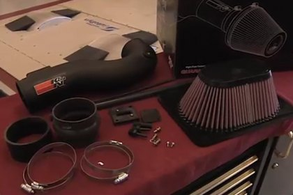 63-9027 - K&N® 63 Series AirCharger® Air Intake System Video