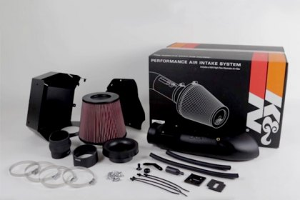 63-9040 - K&N® 63 Series AirCharger® Air Intake System Video