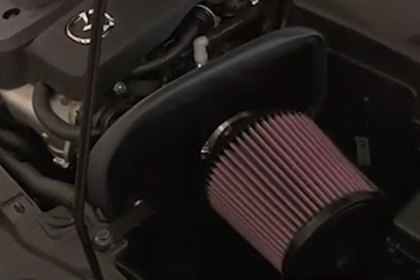 69-6012TS - K&N® 69 Series Typhoon® Air Intake System Video